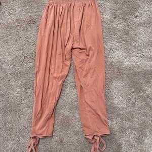 Free people yoga joggers